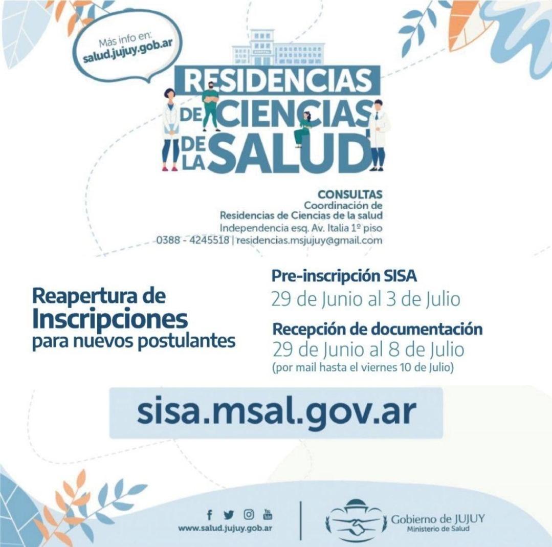 RESIDENCIAS BIOQUÍMICAS 2020